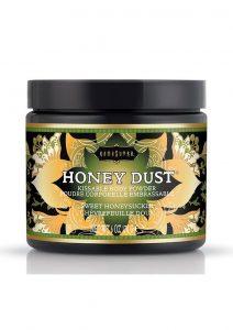 Honey Dust Kissable Body Powder Sweet Honeysuckle 6 Ounce