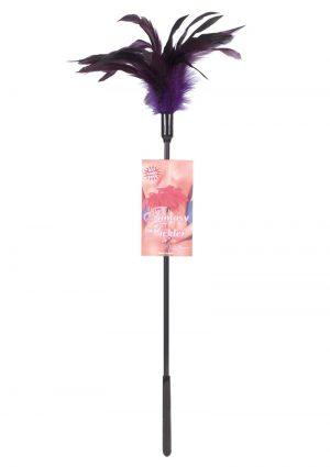 Fantasy Tickler Starburst Feather Tickler Violet