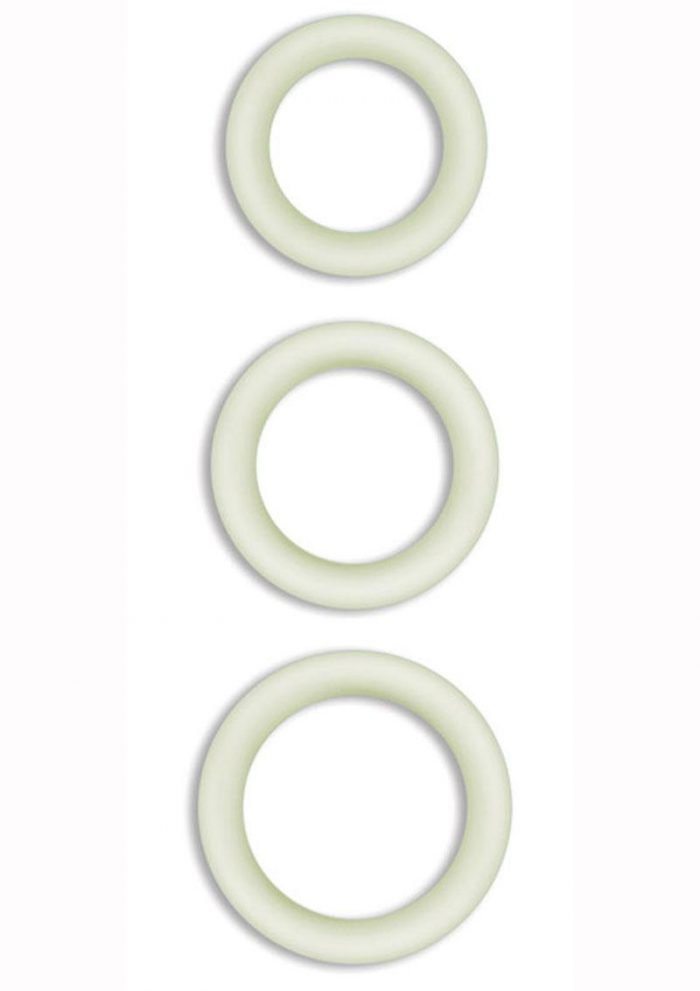 Firefly Halo Silicone Cock Ring Clear Small