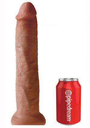 King Cock Non Vibrating Cock Tan 13 Inches