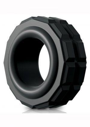 Sir Richards Control High Performance C-Ring Silicone Black