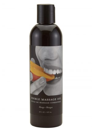 Earthly Body Edible Massage Oil Mango 8 Ounce