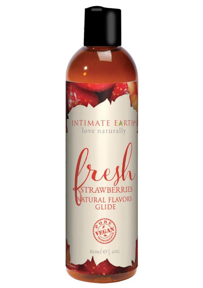 Fresh Strawberries Oral Pleasure Glide Strawberry 2 Ounces