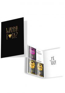 Naughty Notes Greeting Card Wanna Fuck 1 Card