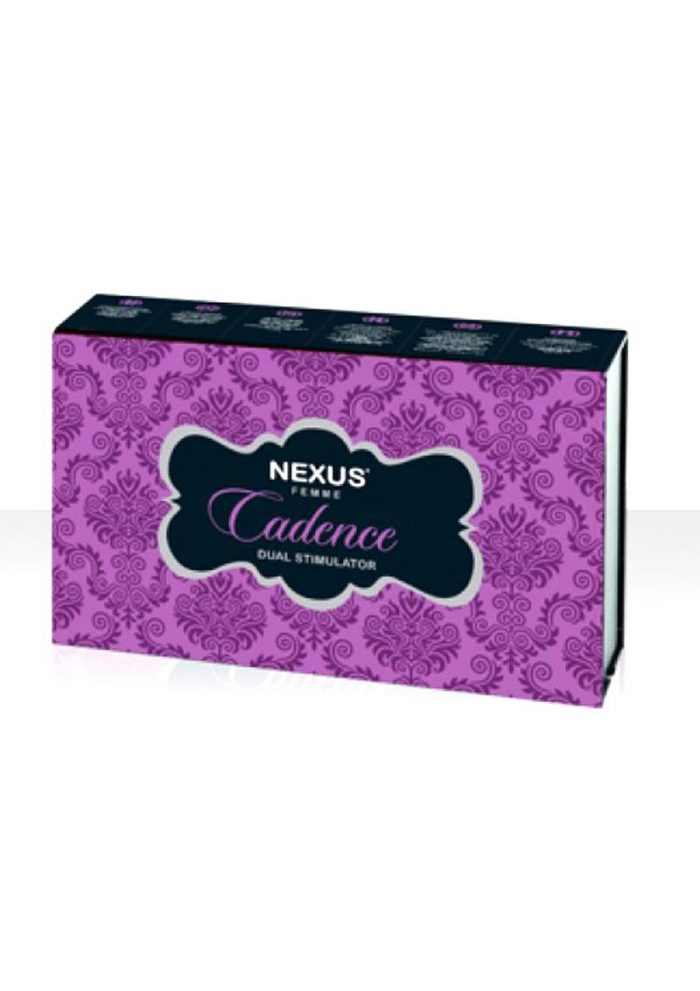 Nexus Femme Cadence Vibrator Silicone Rechargeable Waterproof Purple