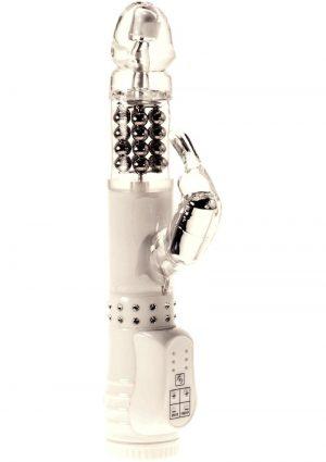 Minx White Diamond Rabbit Waterproof 4.75 Inch