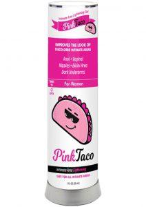 Pink Taco Intimate Lightening Gel 1 Ounce Bottle