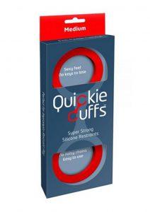 Quickie Cuffs Silicone Red Medium