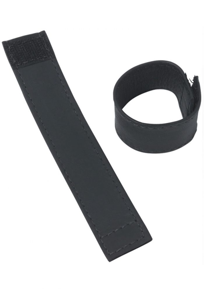 C And B Gear Velcro Stretcher Leather 1 Inch Black