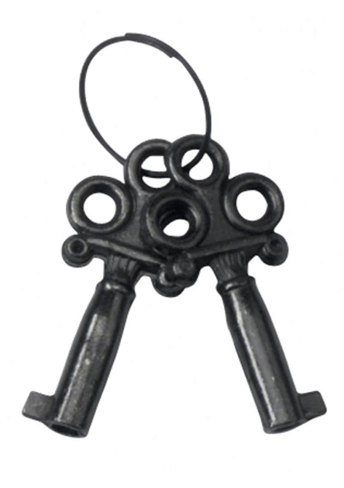 Black Coated Steel Handcuffs With Single Lock Black