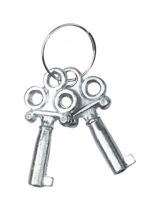 Nickel Coated Steel Handcuffs With Single Lock Silver