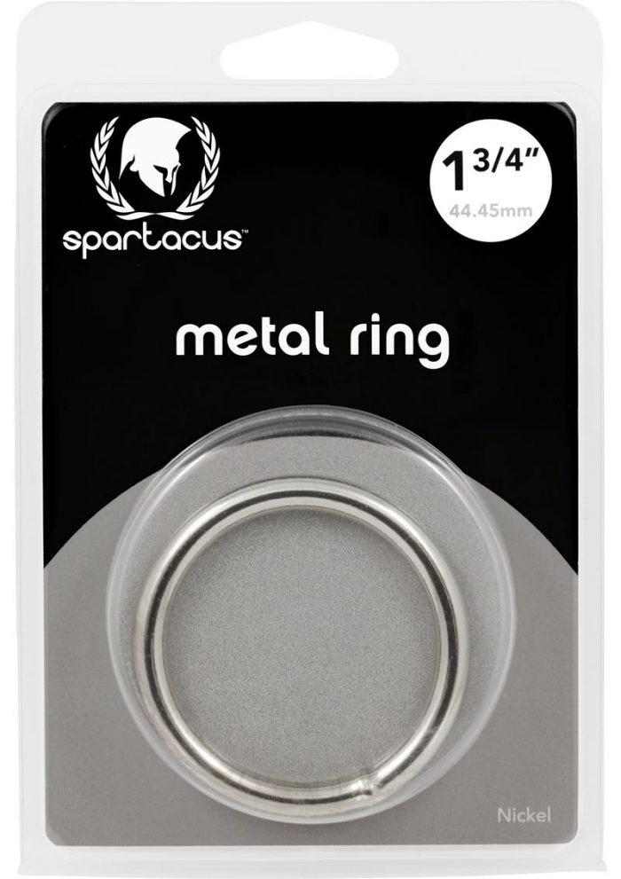 Metal Cock Ring 1.75 Inch Nickel