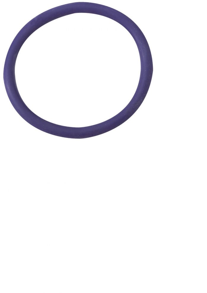 Rubber Cock Ring 2 Inch Purple