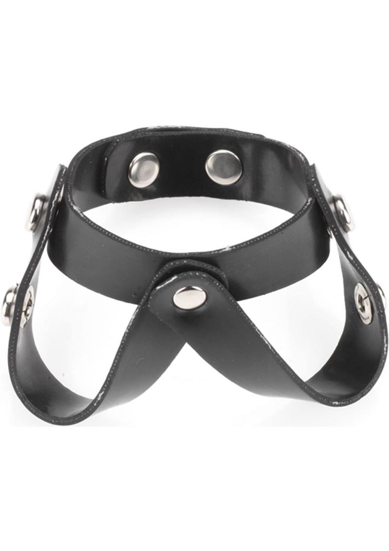 Rubberline V Style Ball Divider Black