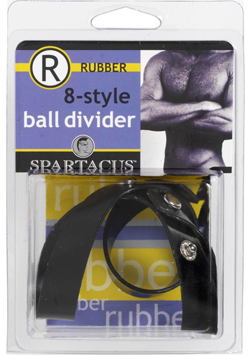 Rubberline 8 Style Ball Divider Black