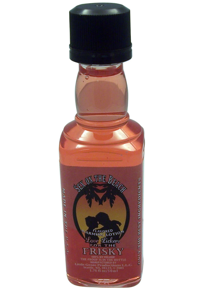 Love Lickers Warming Lotion Sex On The Beach 1.76 Ounce