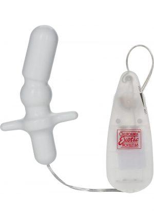 Pocket Exotics Anal T Vibe 3.25 Inch Ivory