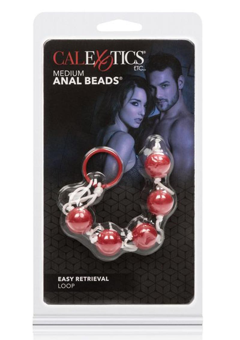Anal Beads Medium Pleasure Beads Assorted Colors