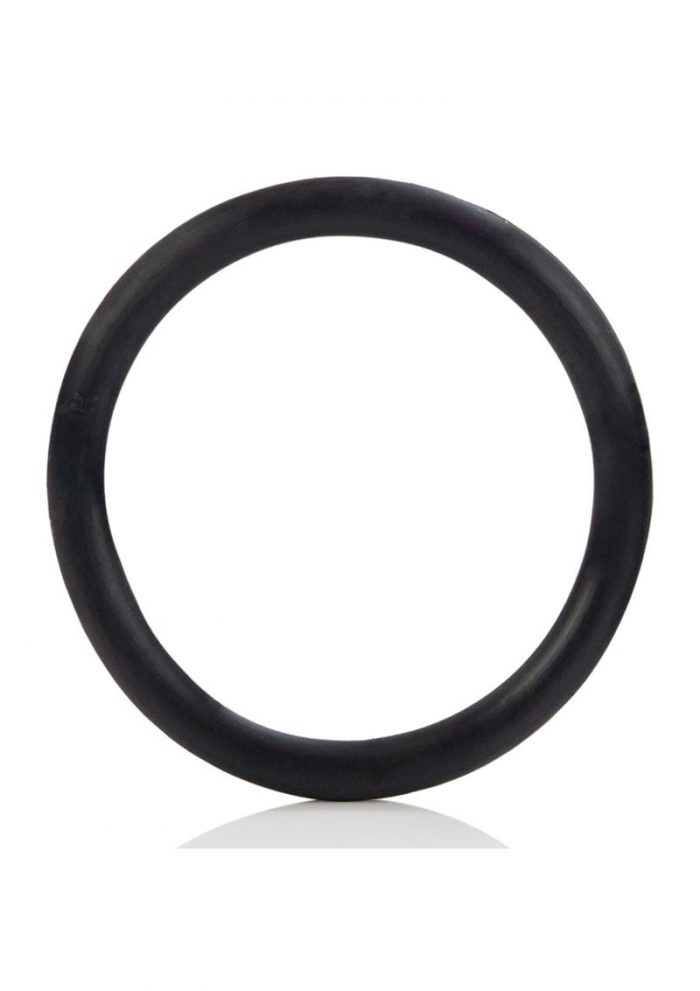 Rubber Cock Ring Large 2 Inch Diameter Black
