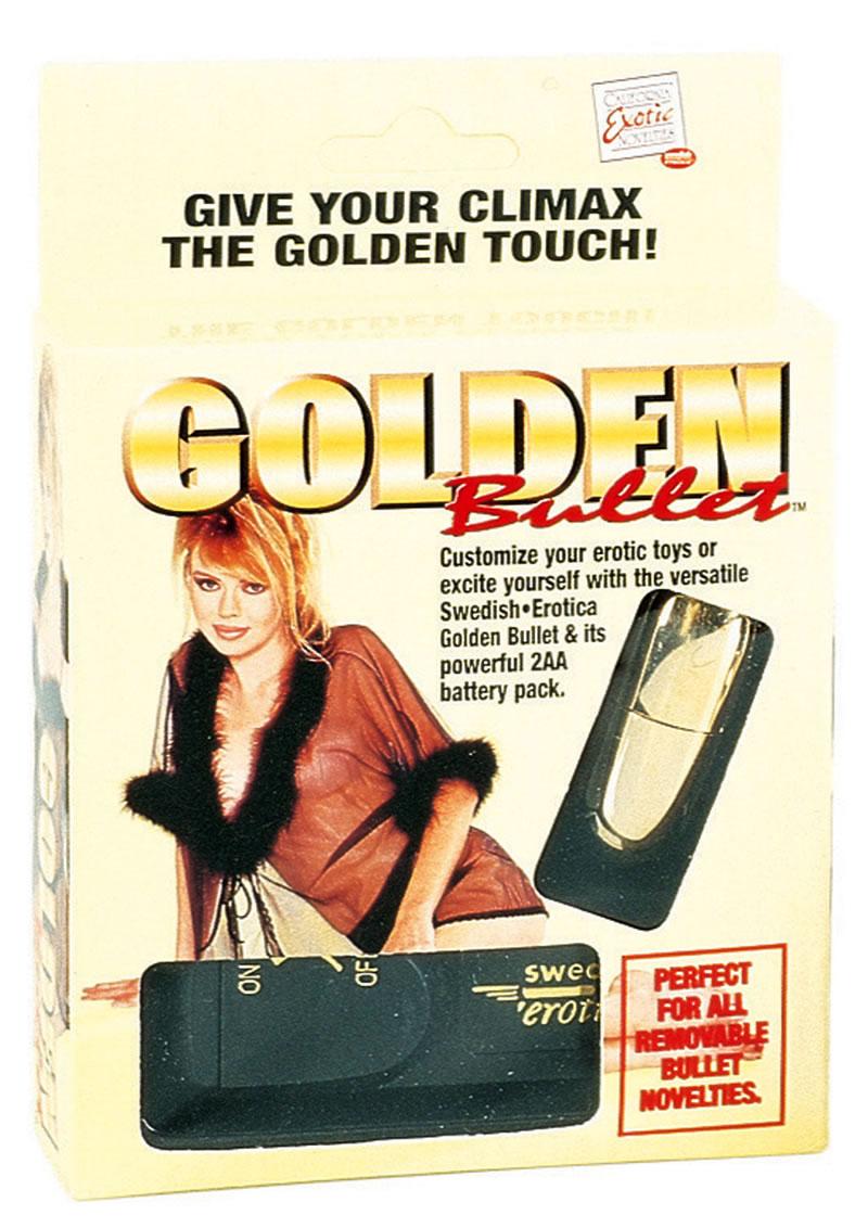 Golden Bullet Multispeed 2.2 Inch Gold