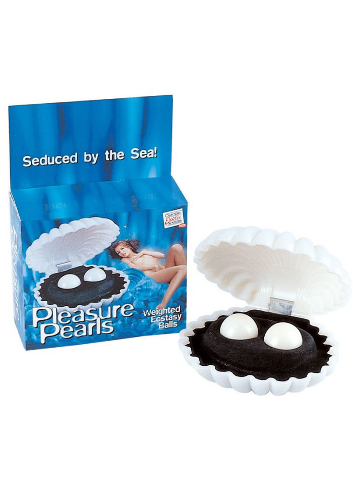 Pleasure Pearls Weighted Ecstasy Balls White