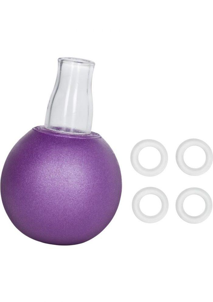 Nipple Bulb with 4 Nipple Erection Rings
