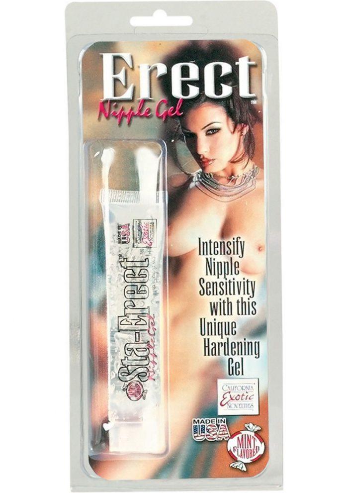 Erect Nipple Gel Sta Erect Peppermint Nipple Gel .5 Ounce Tube