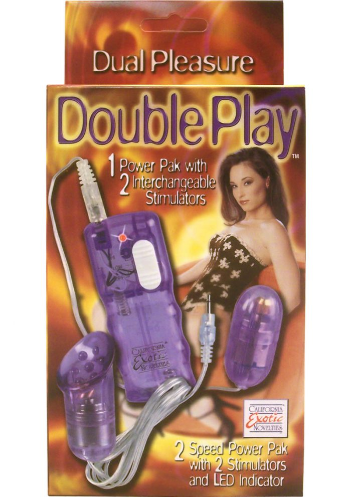Double Play 1 Power Pack 2 Interchangeable 3 Speed Stimulators