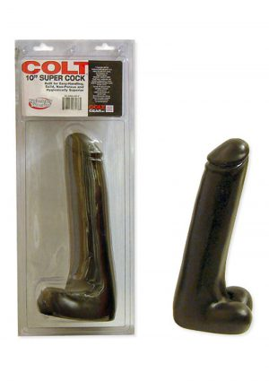 Colt Deep Flexer Silicone Vibrating Anal Probe Waterproof Black 7 Inch