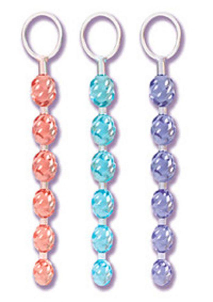 Swirl Pleasure Beads Crystalessence Material 8 Inch Purple