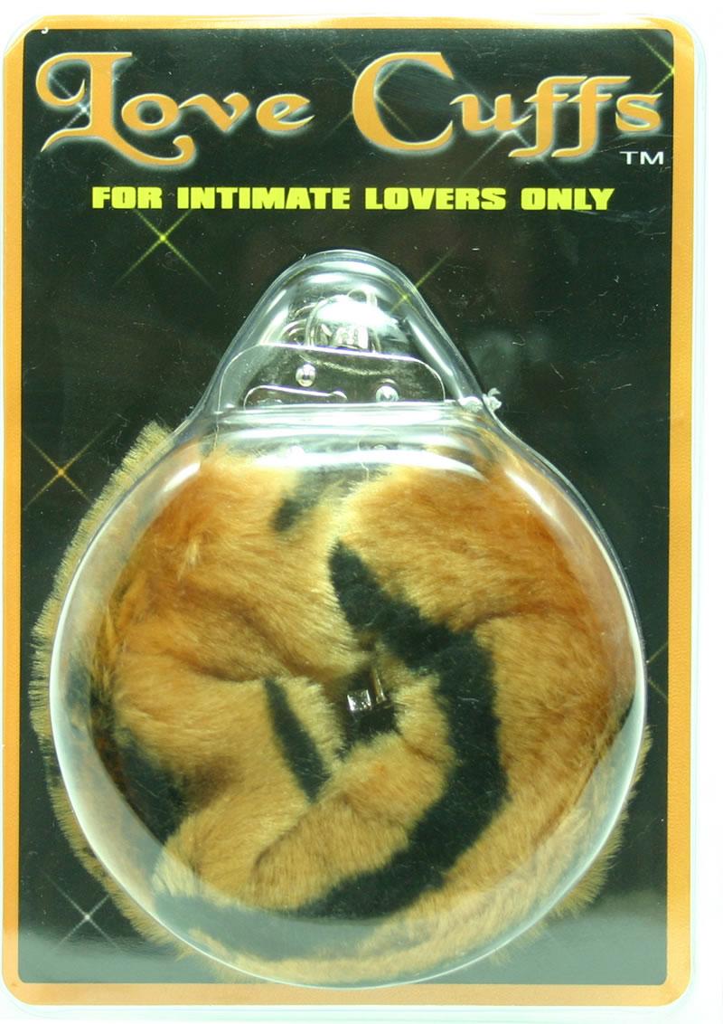FURRY LOVE CUFFS LION