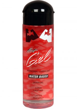 Elbow Grease Hot Gel Lubricant Water Based 10 Ounce