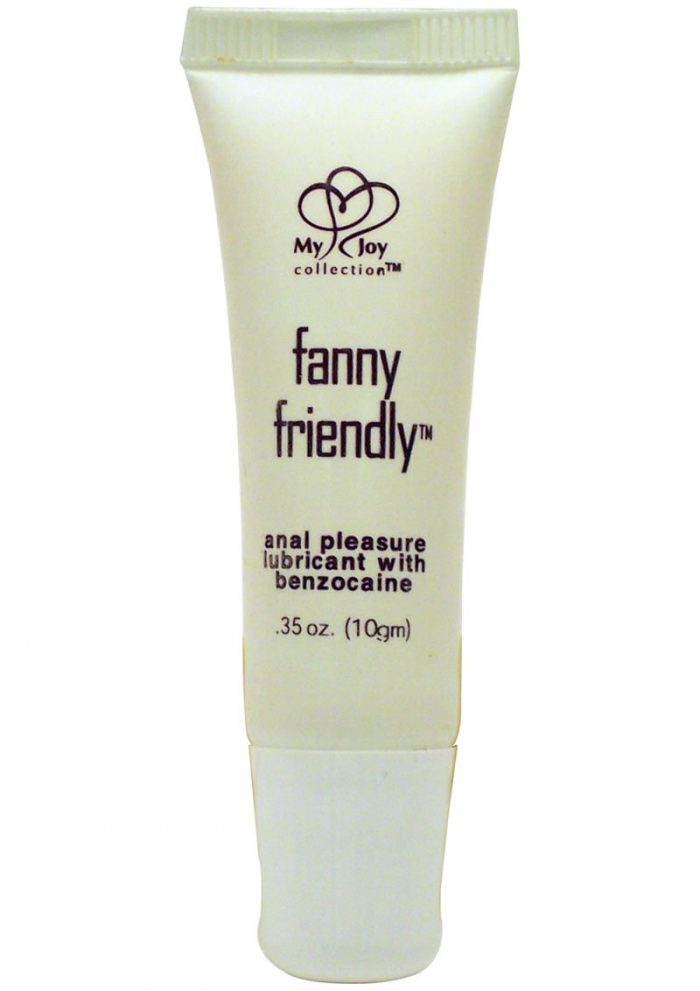Fanny Friendly Anal Pleasure Lubricant With Benzocaine .35 Ounce