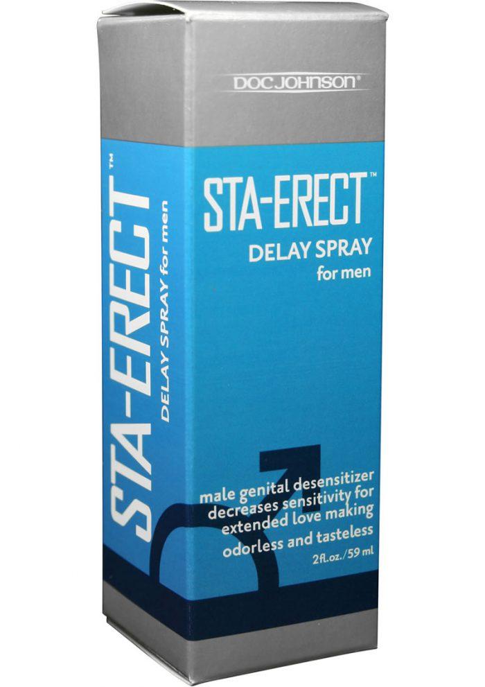 Sta Erect Delay Spray For Men 2 Ounce