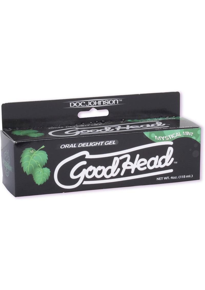 Goodhead Oral Delight Gel Mint 4 Ounce