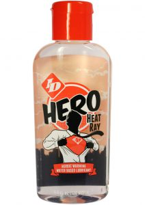 Hero Heat Ray Water Based Warming Lubricant 4.4 Ounce