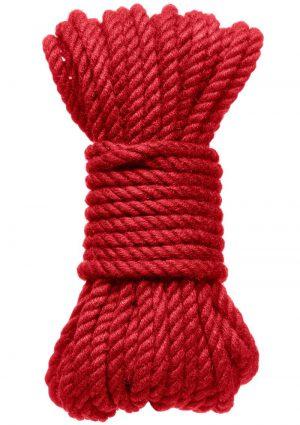 Kink Hogtied Bind And Tie 6mm 30` Red