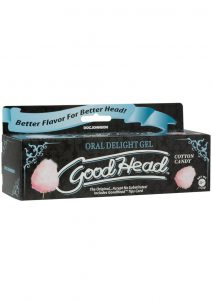 GoodHead Oral Delight Gel Cotton Candy 4 Ounce