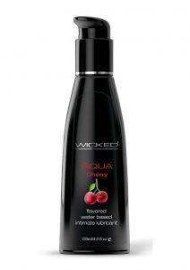 Wicked Aqua Cherry Lube 4oz Water Based