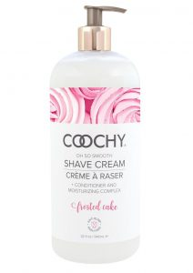 Coochy Oh So Smooth Shave Cream Frosted Cake 32 Ounce Pump