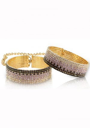 Rianne S Diamond Cuffs Liz 5.9 Inches