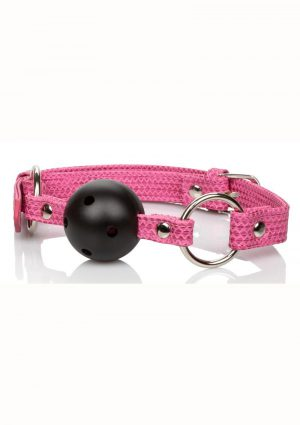 Tickle Me Pink Ball Gag