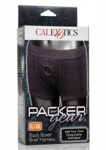 Packer Gear Black Boxer Harness Xl/2xl