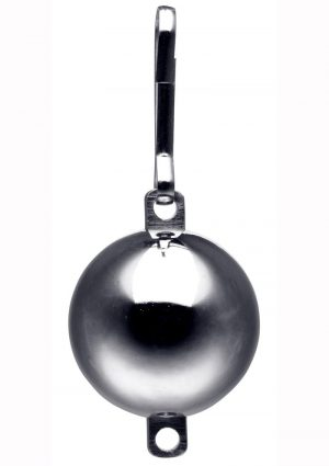 Master Series Oppressor`s Orb 8 Ounce Ball Weight With Connection Point Stainless Steel