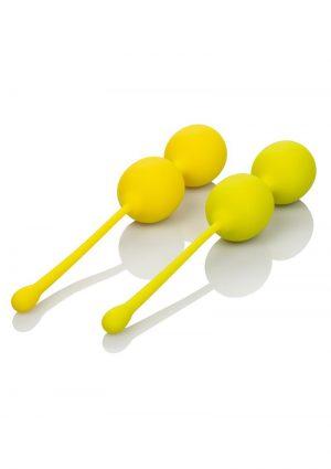 Kegel Training Set Lemon