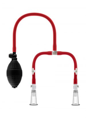 Temptasia Nipple Squeeze Pump Red