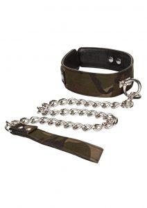 Colt Camo Collar and Leash Set Adjustable  Bondage