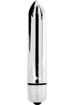 Minx Blossom Bullet Vibrator 10 Modes Waterproof Silver 3.7 Inch