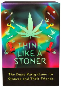 Think Like A Stoner Card Games Novelty Item