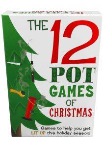 12 Pot Games Of Christmas Novelty